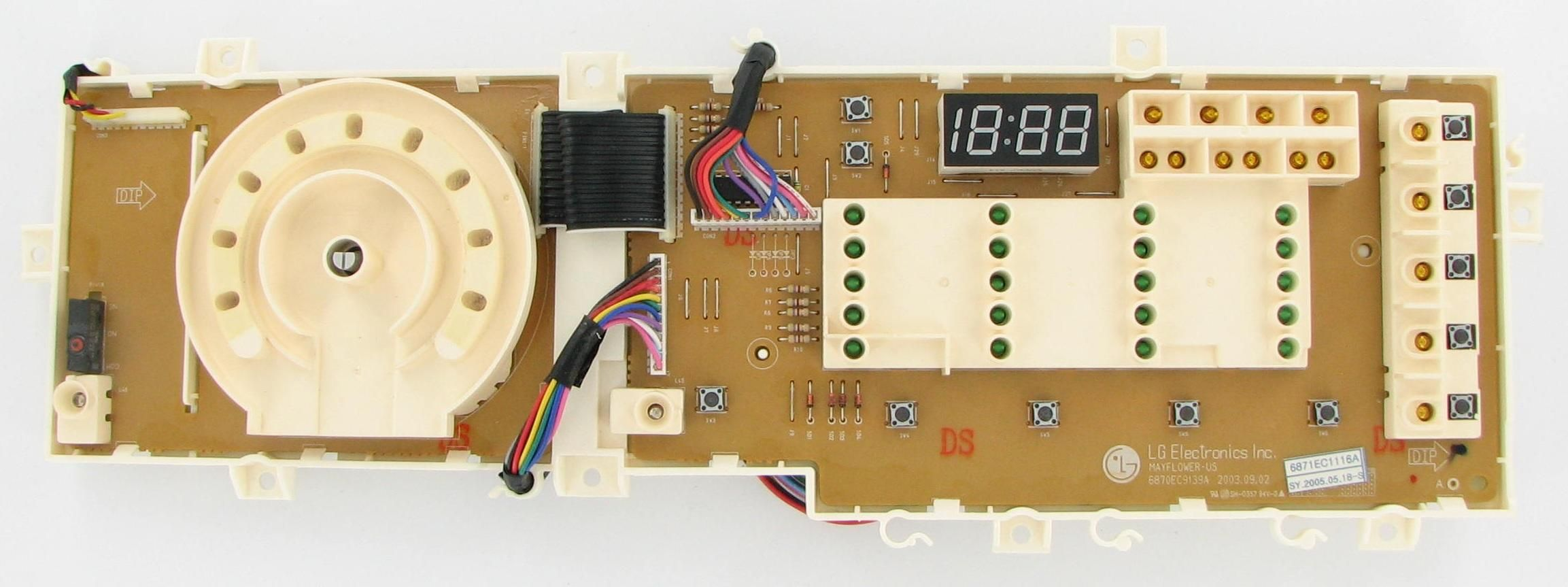 Lg eca laundry washer pcb assembly board control boards