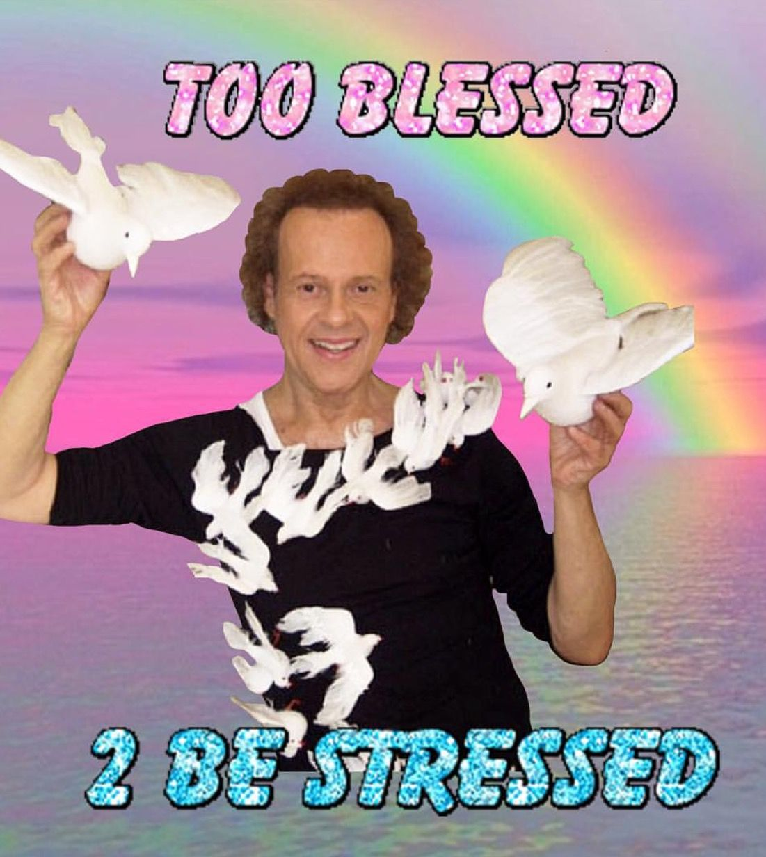 25+ Best Memes About Too-Blessed-To-Be-Stressed | Too ...  |Blessed Meme