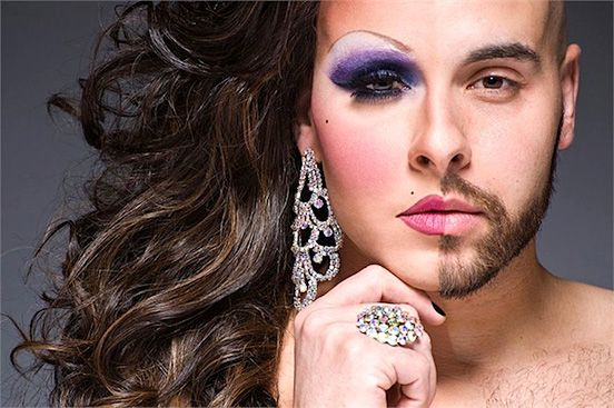 Half-Drag Captures Both Male and Female Side of People   The Design Inspiration