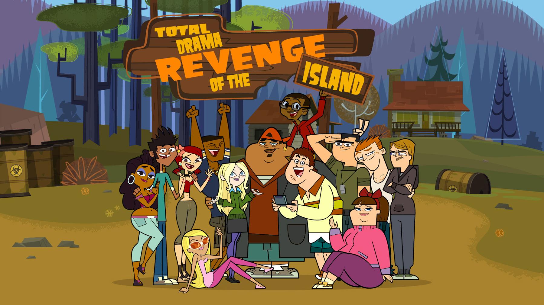 Resultado de imagem para Total Drama: Revenge of the Island