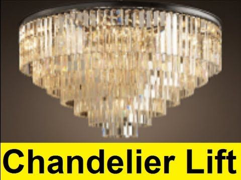 how to make a chandelier lift youtube make fasion pinterest how to make a chandelier lift youtube aloadofball Images