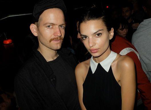 British born American model, Emily Ratajkowski with boyfriend Andrew...