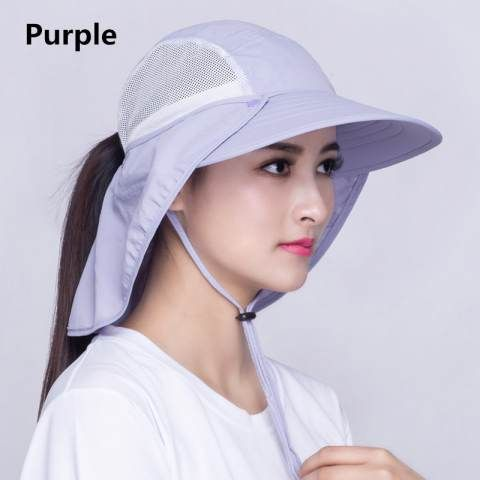Protection sun hat UV package wide brim beach hats for women ... 56814b1d23ef