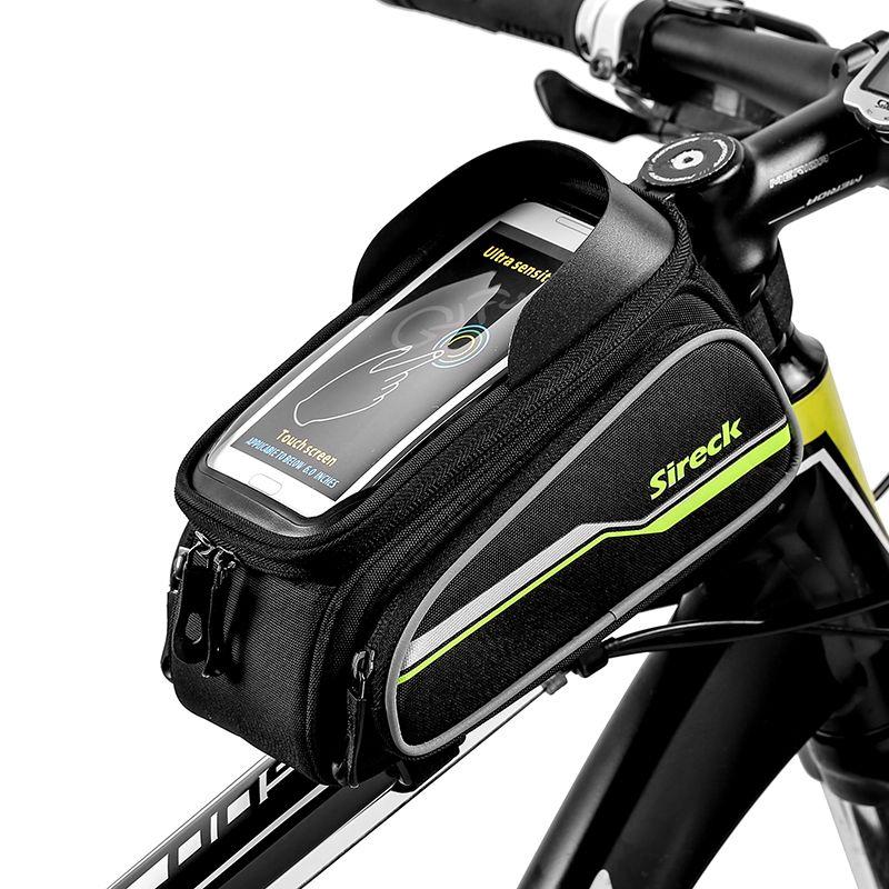 Sireck Bike Bag Front Tube Bicycle Bag 6 0 Phone Touchscreen Mtb