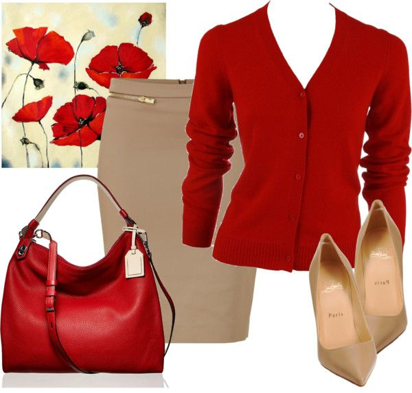 """""""red poppies"""" by liz-hooper-gibson on Polyvore"""