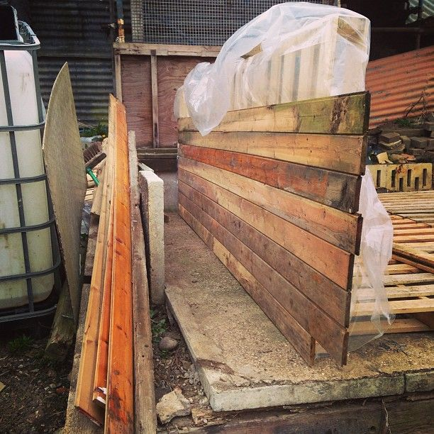The DIY Pallet Shed | Follow progress on our DIY Pallet ...