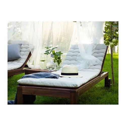 Applaro ChaiseLrh Brown Ikea Stained OutdoorGarden v0nm8wN