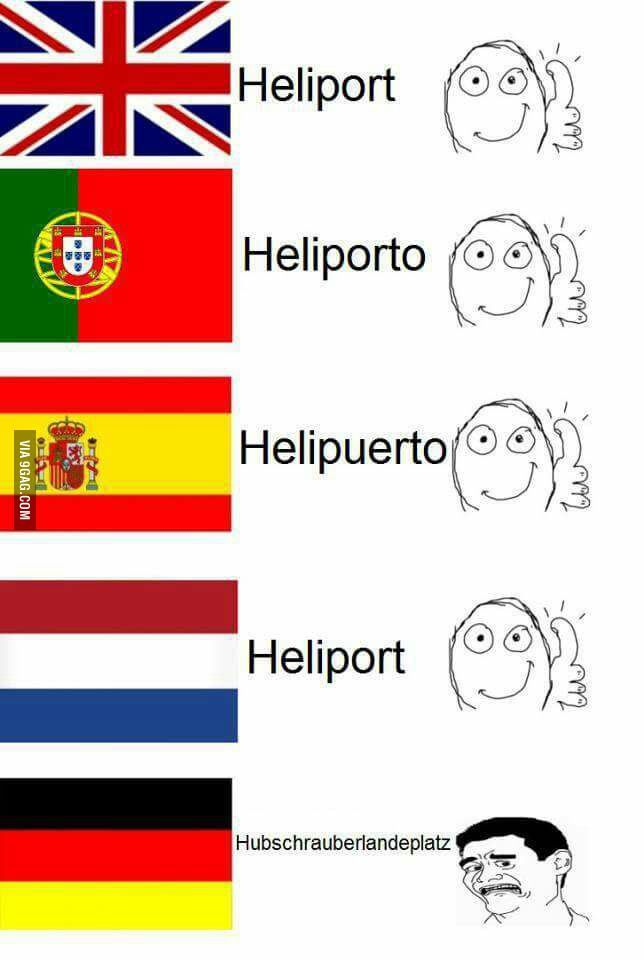 Damnit Germany Language Jokes Funny Picture Quotes Comedy Jokes