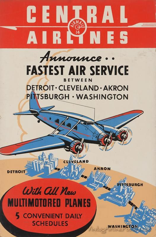 """Pan American Air Lines 8.5/"""" X 11/""""   Travel Poster HOLLAND"""