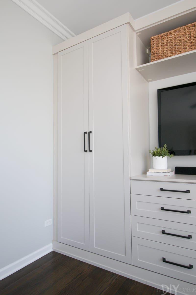 Master Bedroom Built Ins With Storage The Diy Playbook Bedroom Built Ins Small Master Bedroom Shelves In Bedroom