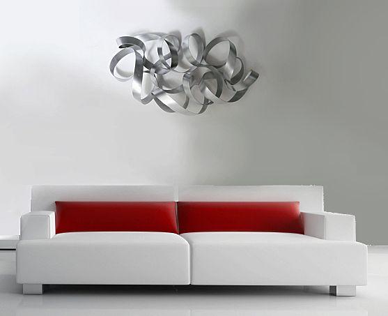 Room · contemporary metal wall artmodern