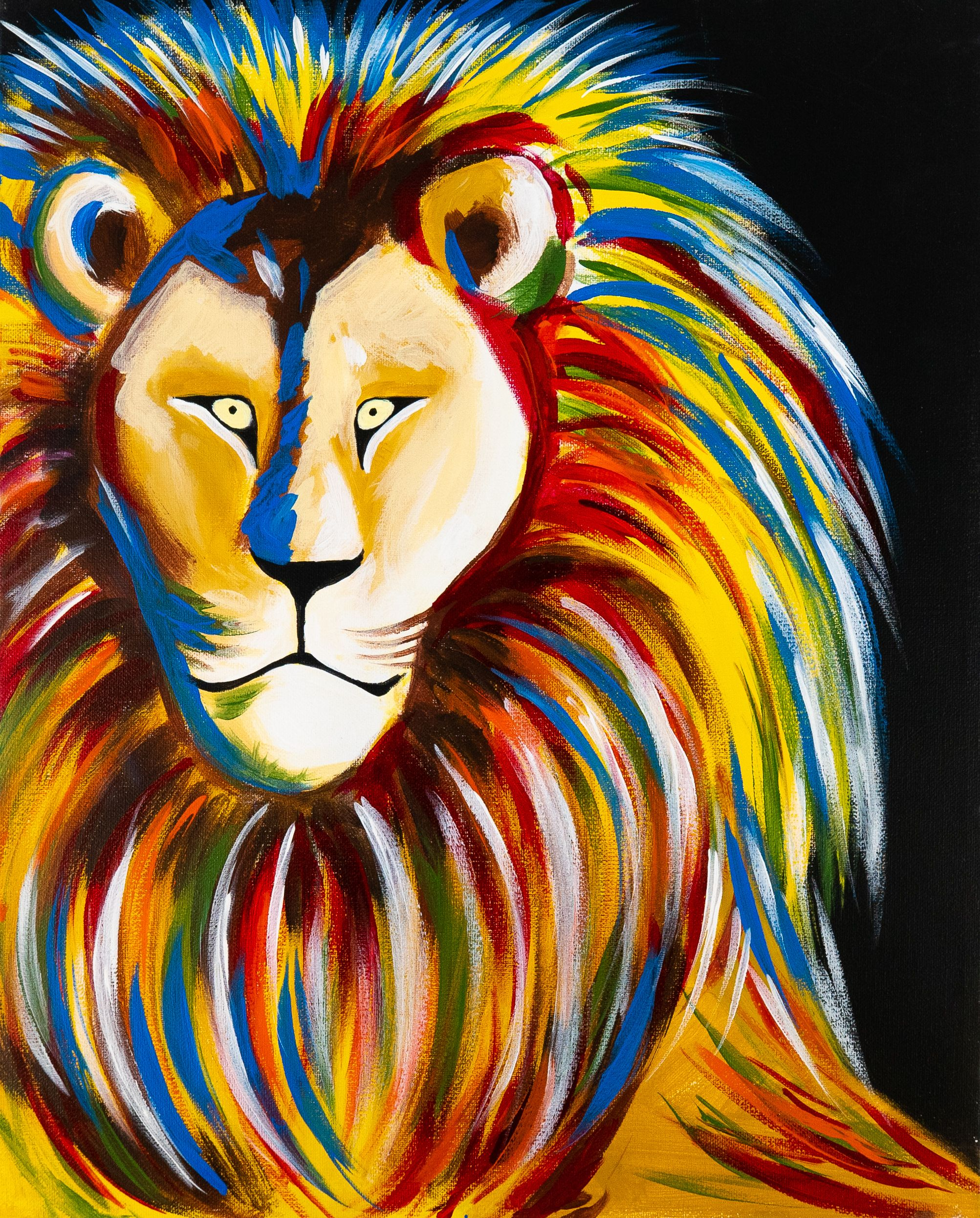 Paint roar with friends and family at your local studio