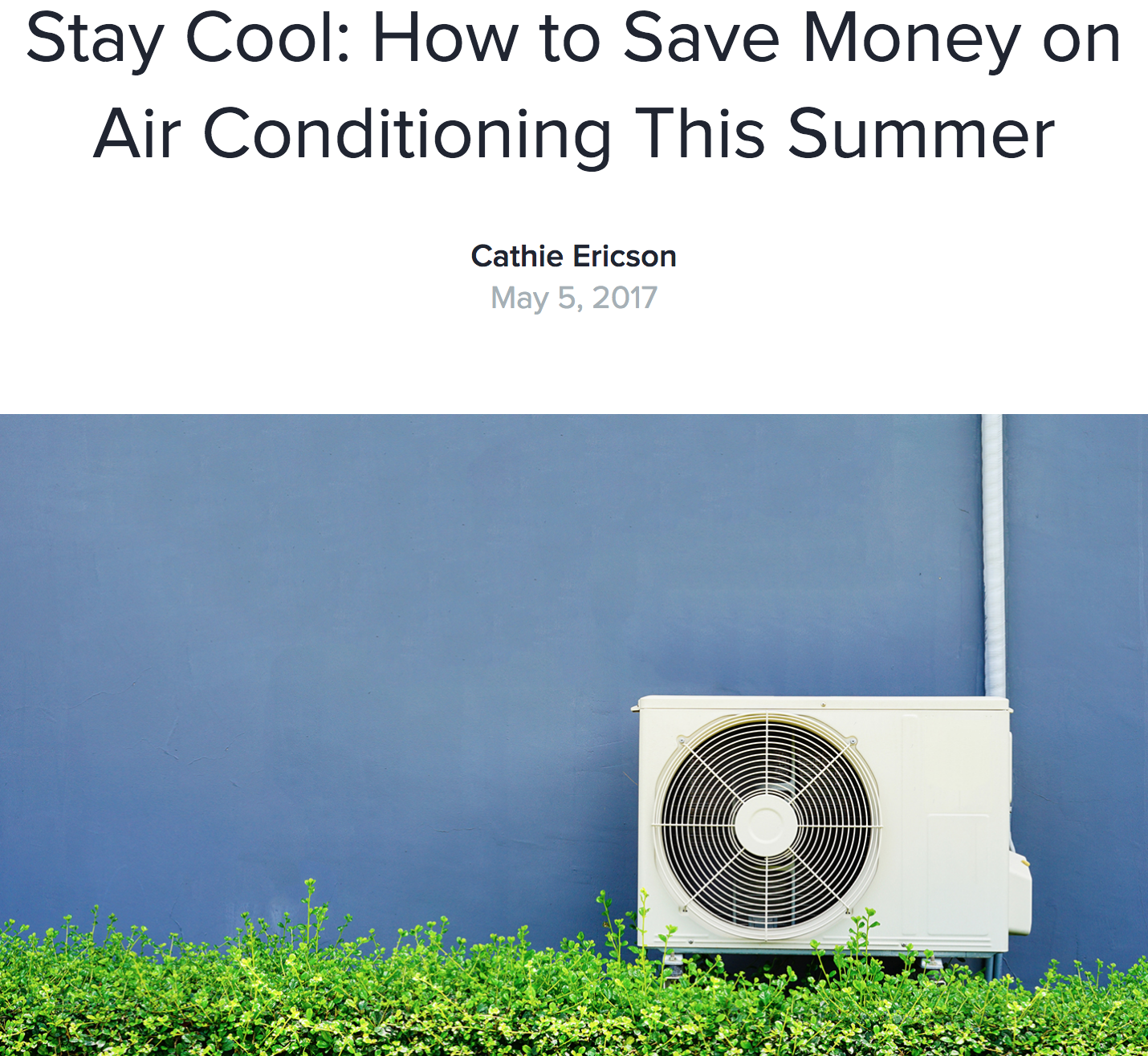 Insider Tips for Saving Money on Your Air Conditioning This
