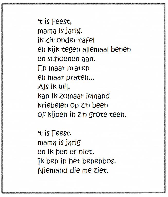 Versje Mama Jarig Liestr Thema Hiep Hiep Hoera Pinterest