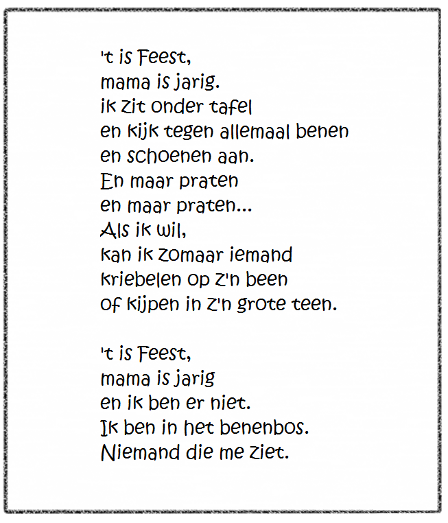 jarig versje Beroemd Gedicht Verjaardag Mama @FI31 – Aboriginaltourismontario jarig versje