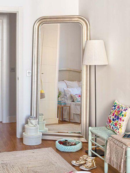 Espejos de suelo para el vestidor habitaciones ikea for Espejos decorativos para habitaciones