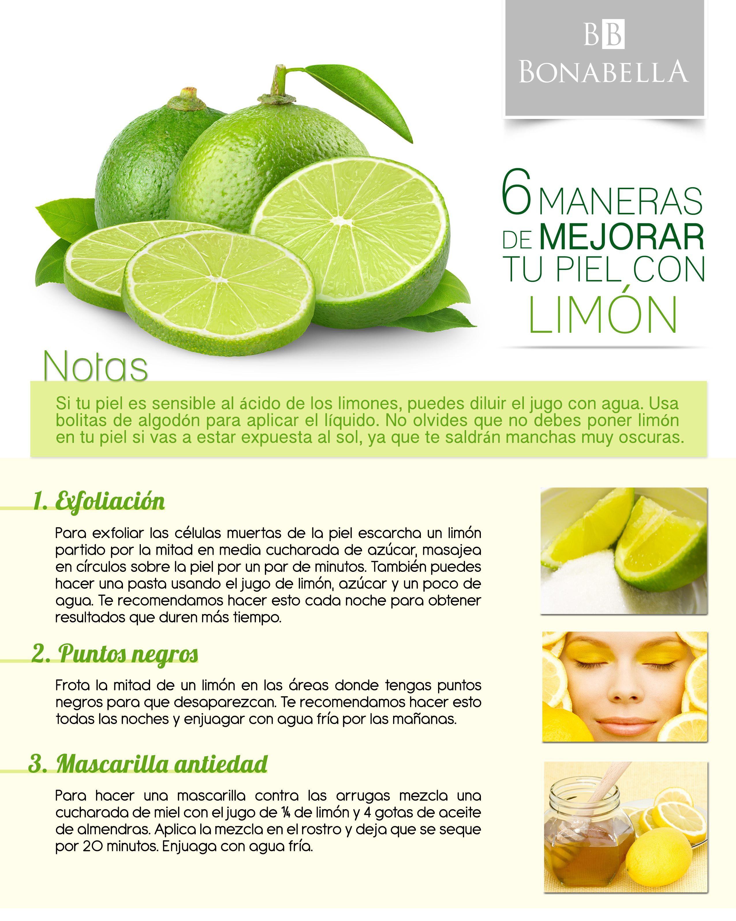 El limón es una fruta increíble que tiene muchos