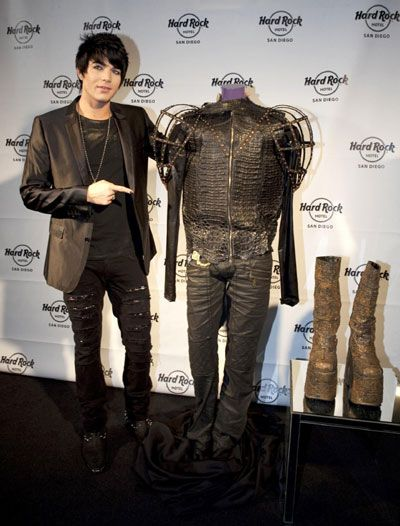 Adam Lambert Bestows Legendary American Idol Kiss Costume To