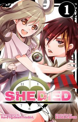 She Died Manga Adaptation Available In Bookstores Nationwide