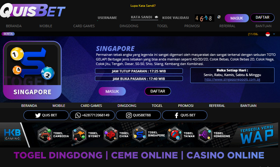 Bandar Togel Singapore Permainan Tebak Angka Yang Legenda Ini