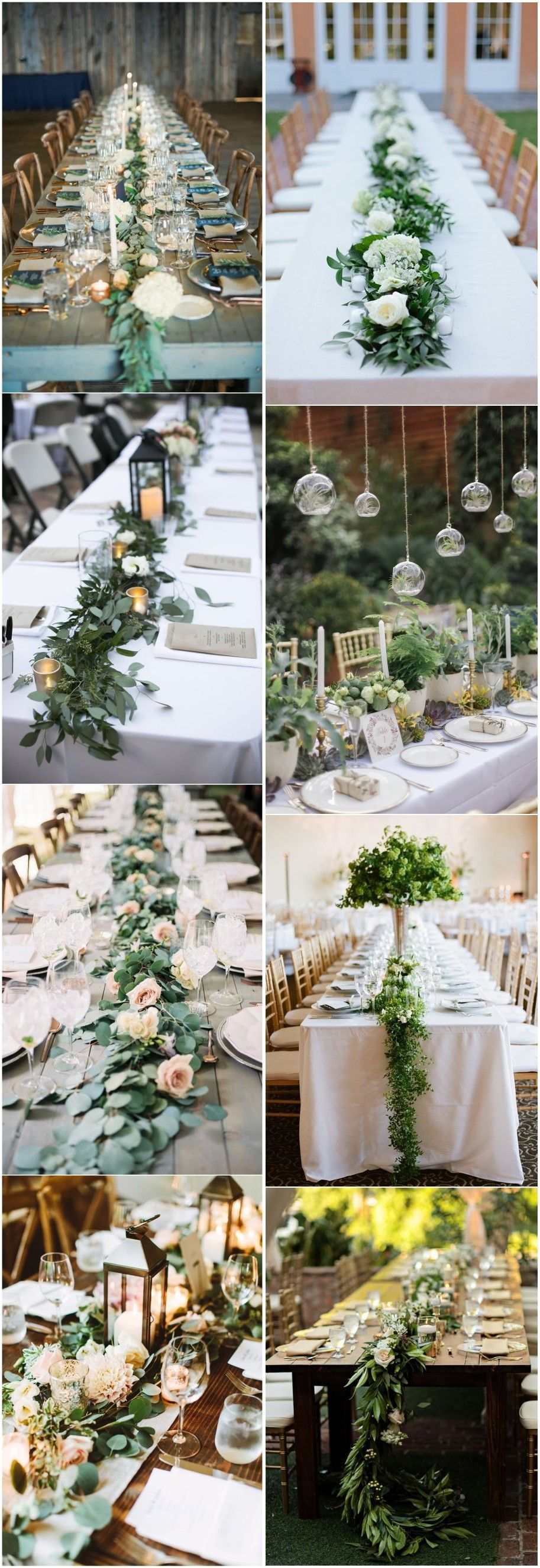 Décor Mariage Pas Cher Table 18 Rustic Greenery Wedding Table Decorations You Will Love