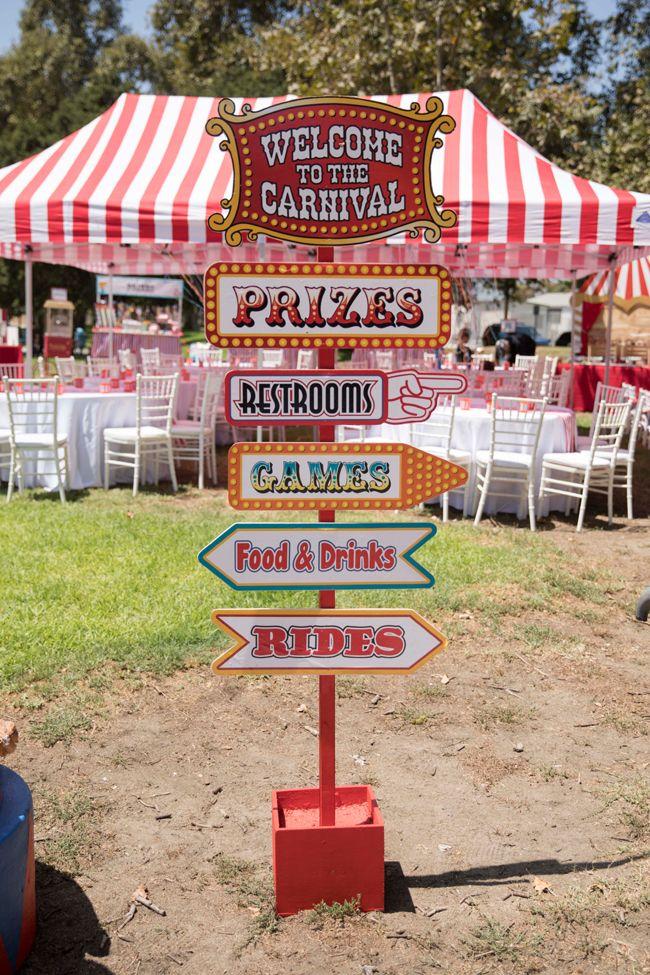 Whimsical Circus First Birthday Party Birthday Party Tivoli