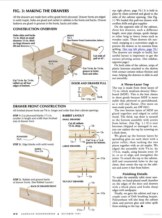 Verysupercool Table Saw Fence System Rex Parkison Table