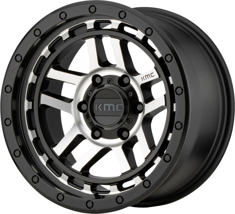 17 Kmc Km540 Recon 17x8 5 Satin Black Machined 5x5 Jeep Truck Wheel 18mm Rim Ebay In 2020 Wheel Rims Truck Wheels Wheel