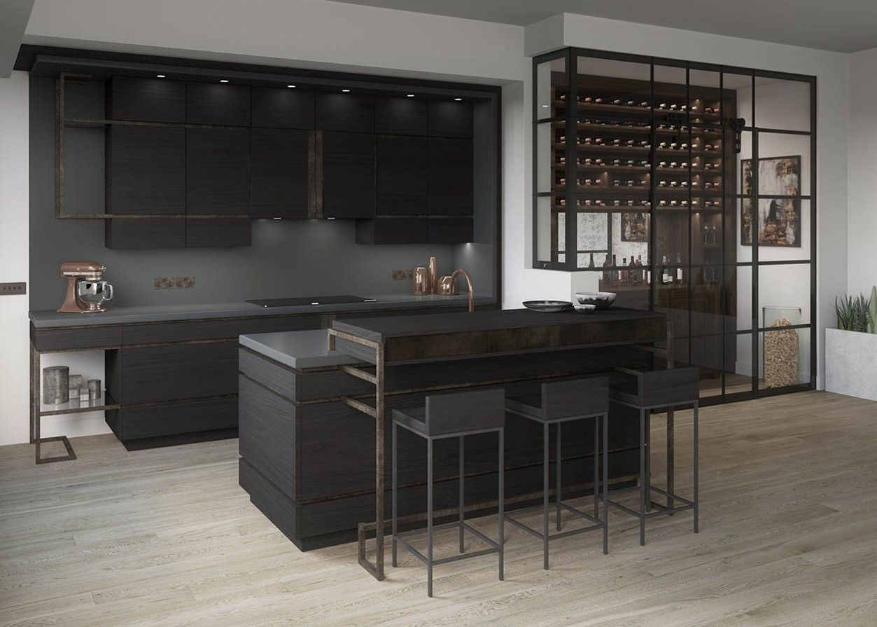 Concept kitchen design by McCarron \u0026 Co - luxury British furniture ...