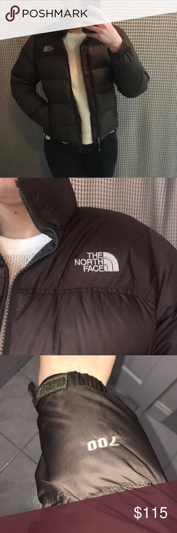 North Face Nuptse 700 Women S Puffer The North Face Women S Puffer Brown North Face [ 1740 x 580 Pixel ]