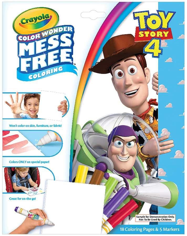 Crayola Disney / Pixar Toy Story 4 Color Wonder Mess Free ...