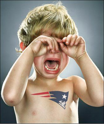 Image result for crying kids in patriots jerseys