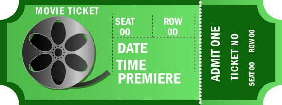 Admit One Ticket Template Free Enchanting Admit One Movie Ticket Template Free  Movie Ticket Templates .