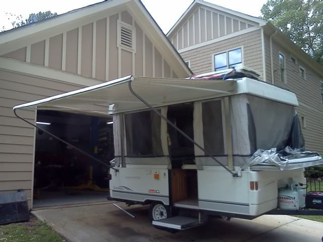 Awning Leg Relocation Mod Camper Awnings Pop Up Camper Tent
