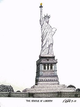 Frederic Kohli Statue Of Liberty Pictures To Paint Statue