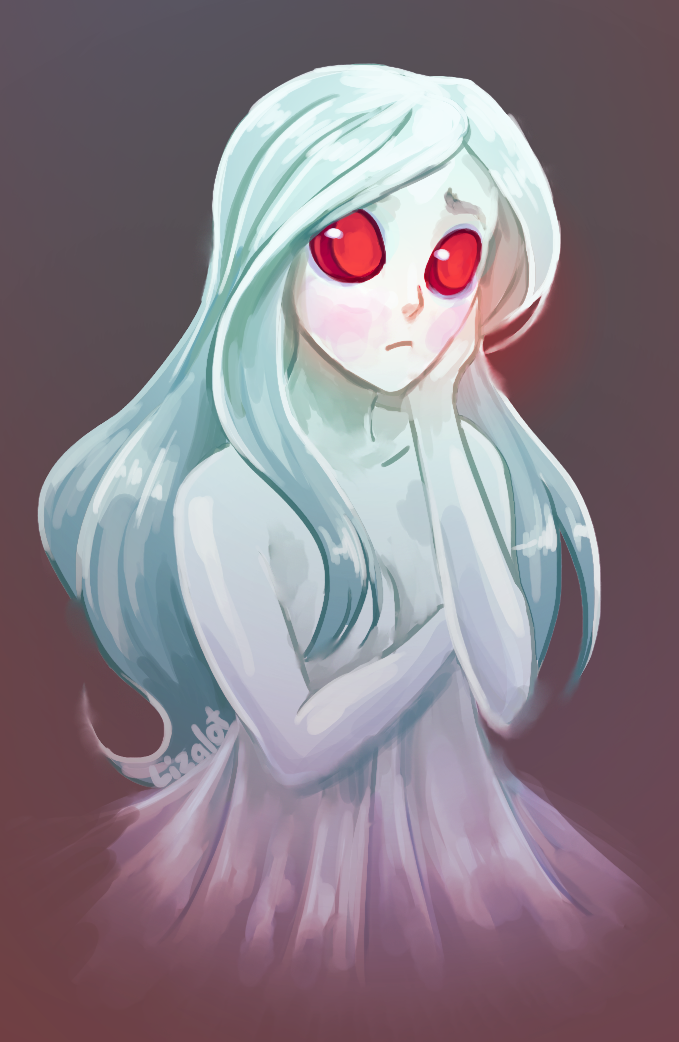 Ghost Girl By Lizalot Cute Monsters Drawings Fantasy Character Design Anime Ghost