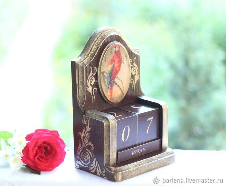 Ручная работа фото вечного календаря