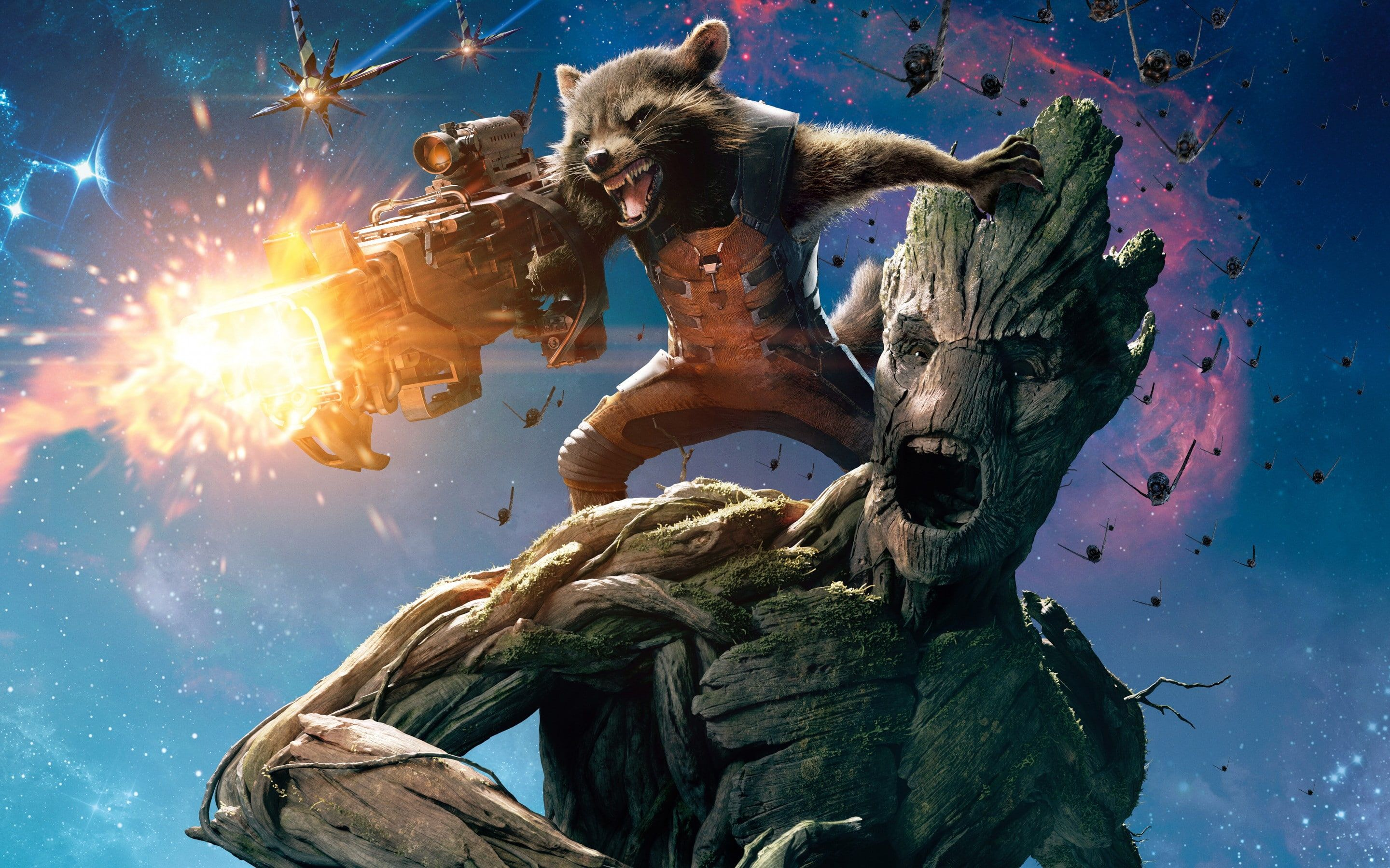 Guardians Of The Galaxy Movie Film Ratchet And Groot Guardians