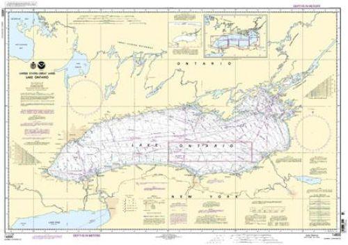 Nautical Chart 14800 - Lake Ontario