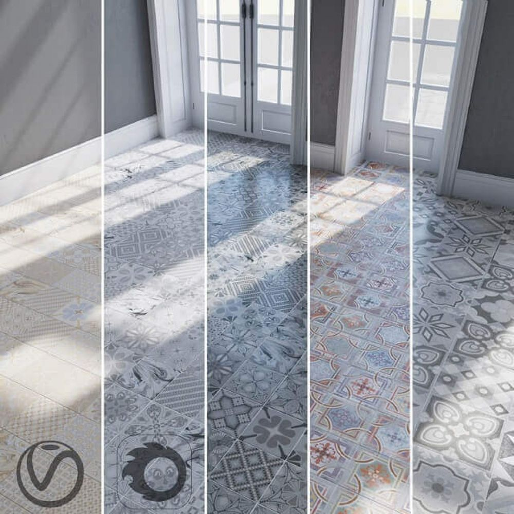 Floor Ceramic Tiles Textures 3d Model For Download Cgsouq Com Tiles Texture Ceramic Texture Ceramic Tiles