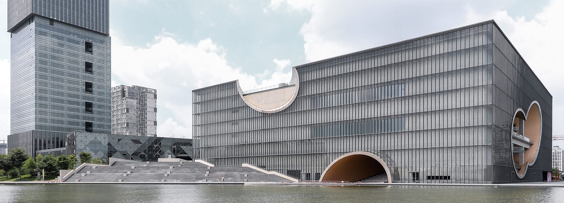 poly grand theater in shanghai by tadao ando