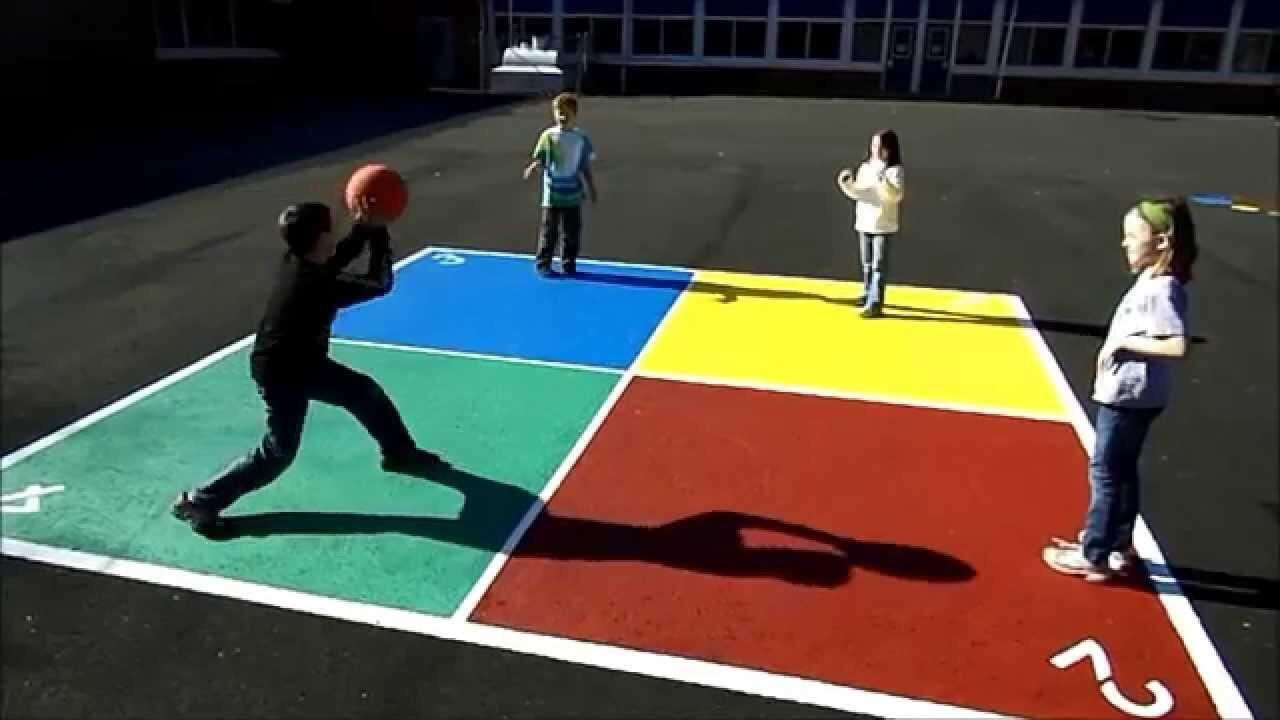Who played Four Squares in recess? nostalgia