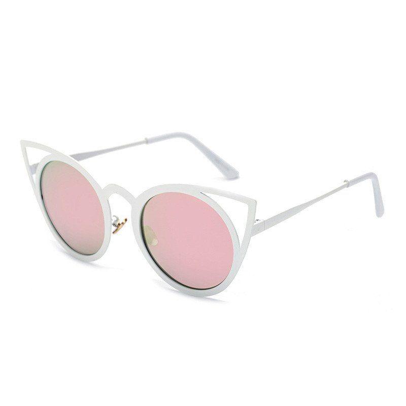 Lucy Pink Cat Eye Sunglasses 0AtLcj