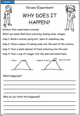 Printables Volcano Worksheets collection of volcano printable worksheets bloggakuten volcanoes and change 3 on pinterest