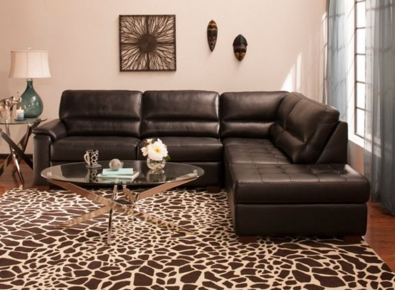 Velano 2 Pc Leather Sectional Sofa Leather Sectional Sofa Sectional Sofa Leather Sectional