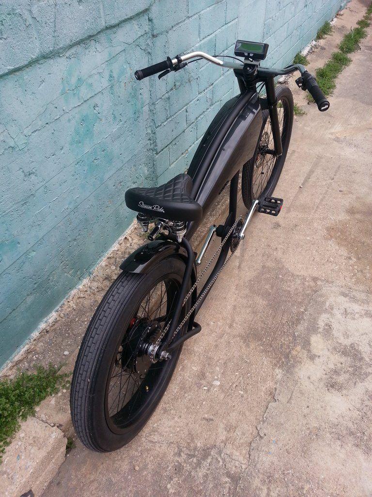 Top View Of Dark Horse Electric Street Bike Street Bikes Cargo