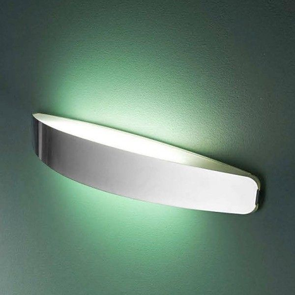 PRIME A double light fitment with an elegant curved casing ...