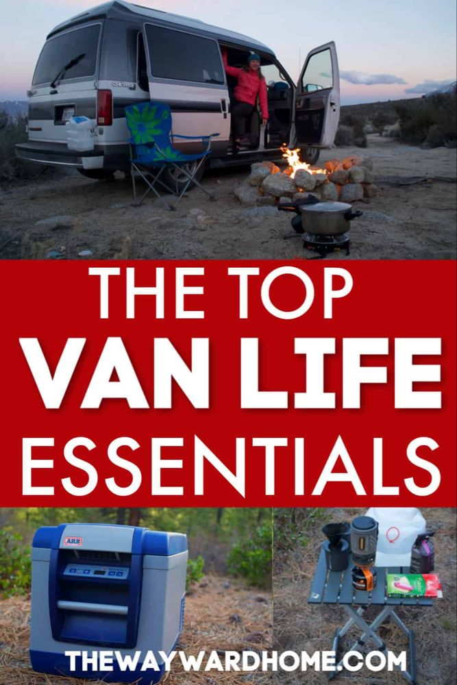 The best campervan gear in 2019 to start living the van life #essentialsforcamping