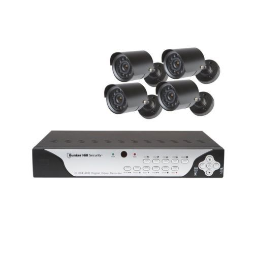 HARBOR FREIGHT TOOLS Surveillance DVR with 4 Cameras
