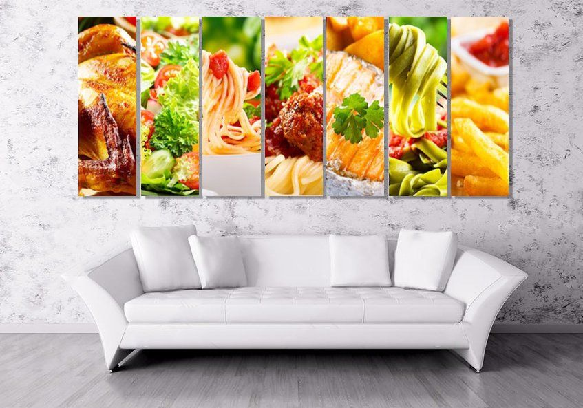 Herbs And Spices Kitchen Canvas Wall Art Picture Print More Sizes
